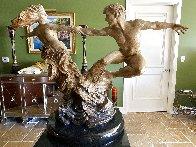 Whirlwind Bronze Sculpture, 2004 59 in  Sculpture by Martin Eichinger - 3