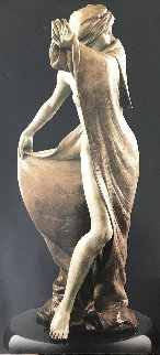 Security Blanket Bronze Sculpture 2001 36 in Sculpture by Martin Eichinger