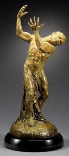 Weight of the World Bronze Sculpture 2005 29 in Sculpture - Martin Eichinger