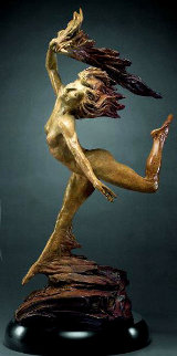 Dancing By Heart Bronze Sculpture 2005 28 in Sculpture by Martin Eichinger