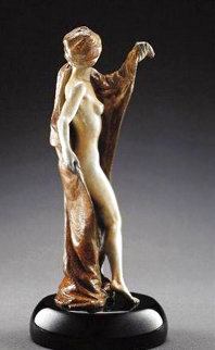 Security Blanket Bronze Sculpture 2005 33 in Sculpture - Martin Eichinger