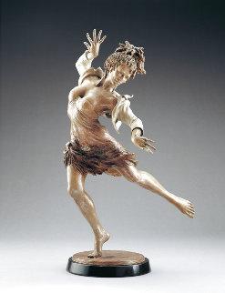 Fireside Dancer Bronze Sculpture 45 in Sculpture - Martin Eichinger