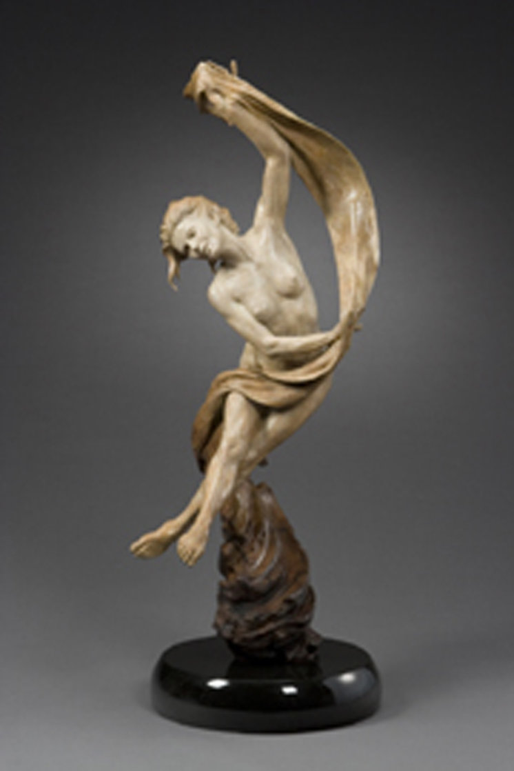 Sailaway Bronze Sculpture 2006 38 in Sculpture by Martin Eichinger