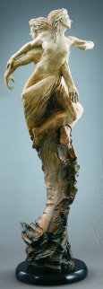 Rapture Bronze Sculpture Life Size 2007 54 in Sculpture by Martin Eichinger