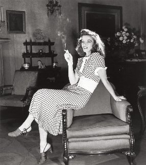 Katherine Hepburn From the Philadelphia Story 1939 Photography - Alfred Eisenstaedt