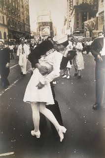 V.J.  Day, 1945 Photography by Alfred Eisenstaedt