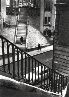 Left Bank Street Paris 1964 Photography - Alfred Eisenstaedt