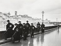 Monks Along the Arno 1935 Limited Edition Print by Alfred Eisenstaedt - 0