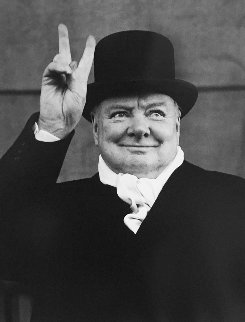 Winston Churchill, Liverpool, 1951 Limited Edition Print by Alfred Eisenstaedt