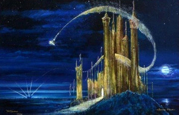 Gold Castle Limited Edition Print - Peter Ellenshaw