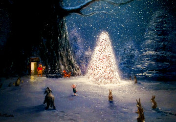 Pooh and the Magic Tree 2000 Limited Edition Print - Peter Ellenshaw