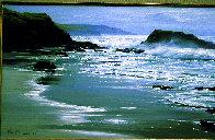 Wood's Cove 1965 26x50 Huge Original Painting by Peter Ellenshaw - 2