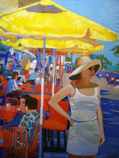Evangeline 2011 42x32 Original Painting - Russ Elliott