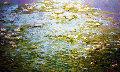 Abundant Water Lilies 2011 Original Painting - Russ Elliott