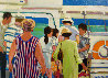 Caribbean Daytrippers 20x24 Original Painting by Russ Elliott - 0