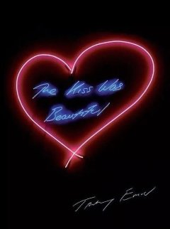 Kiss Was Beautiful Poster 1916 Other by Tracey Emin