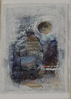 Composition 153 12x18 Works on Paper (not prints) by Nissan Engel - 2