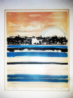 Untitled Lithograph 1975 Limited Edition Print by Nissan Engel