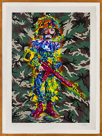 Camo Tramp Boy PP 2008 Limited Edition Print by Ron  English - 1