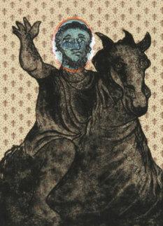 Marcus Annius Verus Aurelius Antoninus  1972 Limited Edition Print - Enrico Baj