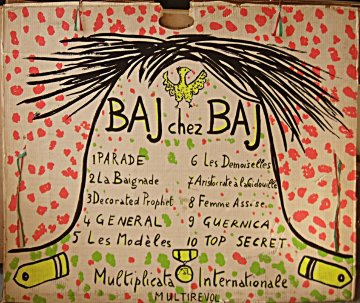 Baj Chez Baj, Suite of 7 1972 Limited Edition Print - Enrico Baj