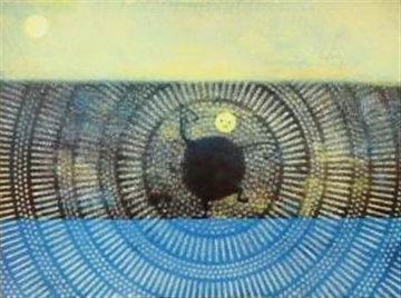Versunkene Mond 1972 Limited Edition Print by Max Ernst