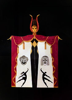 Broadway in Fashion 1978 Limited Edition Print by  Erte