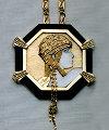 Aventurine IV Gold, Black Onyx Necklace State IV Jewelry -  Erte