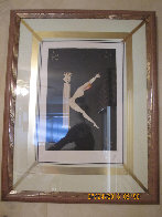 Letter K 1976 Limited Edition Print by  Erte - 1