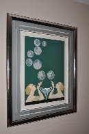 Bubbles 1981 Limited Edition Print by  Erte - 1