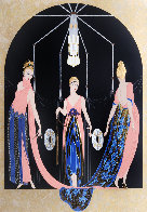 Three Graces 1983 Limited Edition Print by  Erte - 0