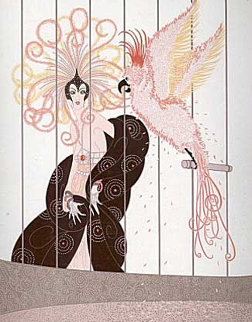Bird Cage 1981 Limited Edition Print -  Erte