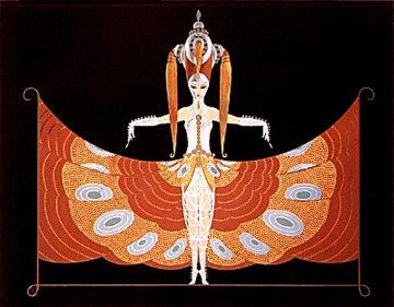Hindu Princess 1987 Limited Edition Print by  Erte