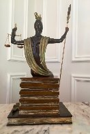 Justice Bronze Sculpture 1984 19 in Sculpture by  Erte - 2
