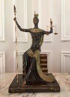 Justice Bronze Sculpture 1984 19 in Sculpture by  Erte - 1