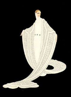 Purity 1981 Limited Edition Print by  Erte