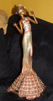 Fantasia Bronze Sculpture 1988 Sculpture by  Erte