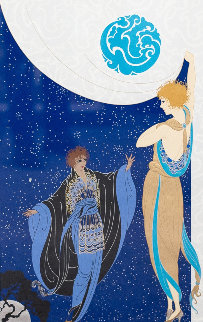 Nocturne 1985 Limited Edition Print by  Erte