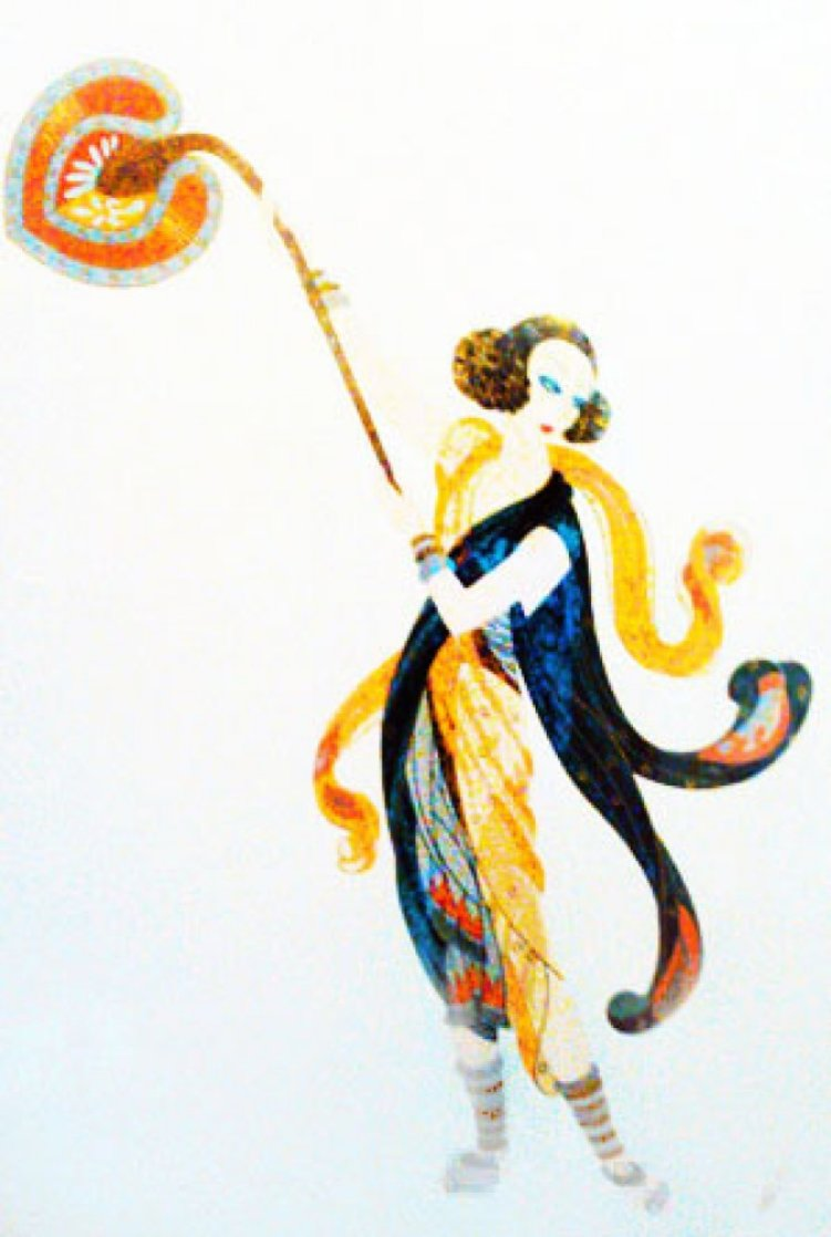 Balinese 1990 Limited Edition Print by  Erte