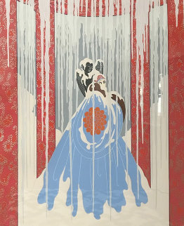 Loves Captive 1982 Limited Edition Print by  Erte
