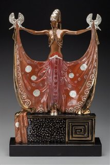 Venus  Bronze Sculpture 1987 24 in Sculpture -  Erte
