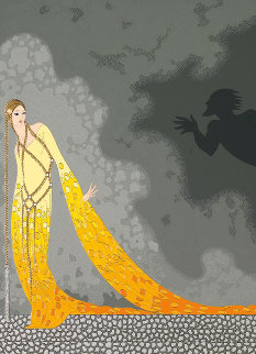 Melisande And Golaud 1987 Limited Edition Print by  Erte