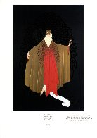 Paris Days And Nights: Place De l'Opera 1987 Limited Edition Print by  Erte - 1