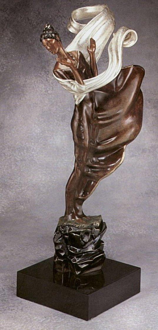 Summer Breeze Bronze Sculpture 1987 22 in Sculpture by  Erte