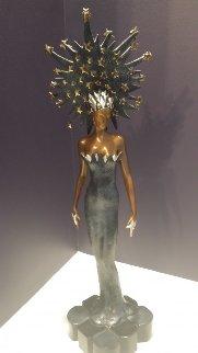 Starstruck Bronze Sculpture 1988 22 in Sculpture by  Erte