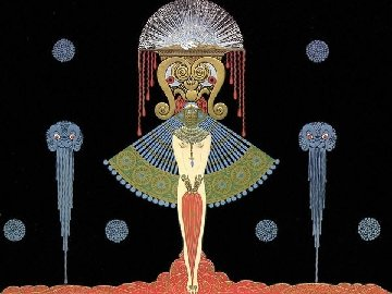 Salome Limited Edition Print by  Erte