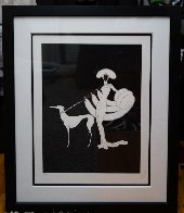 Ebony And White 1982 Limited Edition Print by  Erte - 1