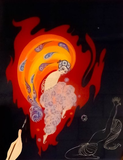 Oriental Tale  1982 Limited Edition Print by  Erte
