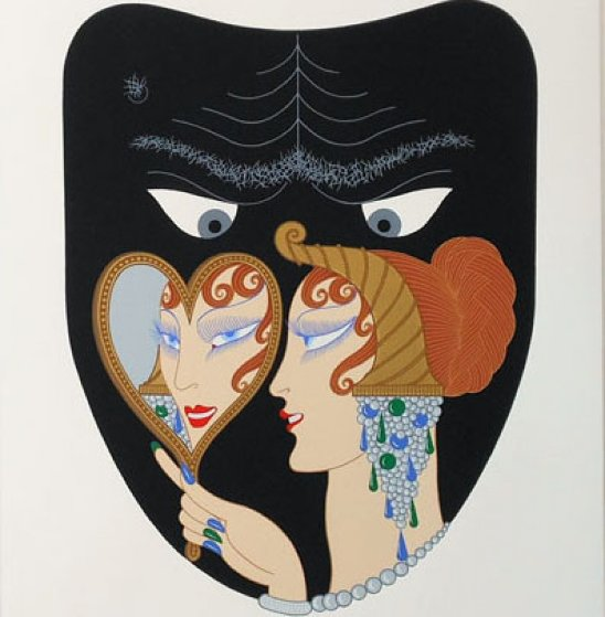 7 Deadly Sins Suite of 7 1980 Limited Edition Print by  Erte
