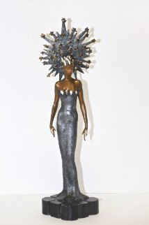 Starstruck Bronze Sculpture 1988 22 in Sculpture -  Erte